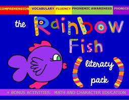 33 rainbow fish friendship activities images