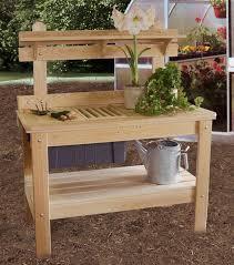 Wooden Potting Benches Potting Table Ohio Hardword U0026 Upholstered Furniture