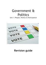 as politics revision guide unit 1