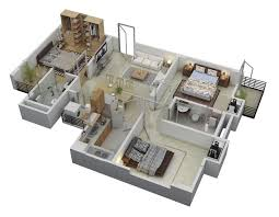 three bedroom floor plans 50 three 3 bedroom apartment house plans floor layout