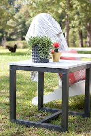 Easy Patio Best 25 Outdoor Side Table Ideas On Pinterest Easy Patio