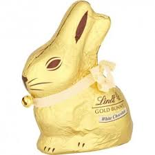 lindt easter bunny gold easter bunny white chocolate 100g
