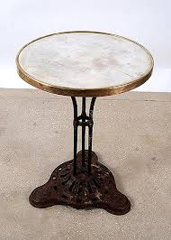 Antique Bistro Table Remarkable Vintage Bistro Table With Antique Bistro Table