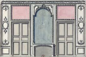 Palace Design File Design For An Antechamber In The Bonn Palace Of Buen Retiro