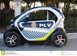 renault twizy blue small police car editorial photo image of renault batteries