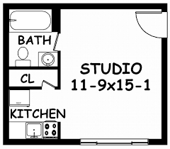 floor plan of one bedroom apartment with design hd images a