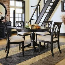 Thompson Furniture Bloomington Indiana by American Drew Camden Dark Round Dining Table With Splat Back