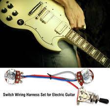 guitar wiring kit ebay