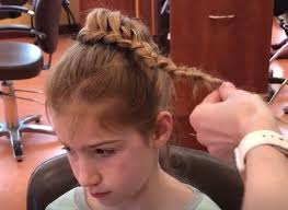 free class create cute braided hairstyles for little girls
