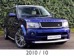 light blue range rover used land rover range rover sport suv 3 6 td v8 autobiography
