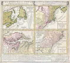 Map Of Georgia And Florida by File 1737 Homann Heirs Map Of New England Georgia And Carolina