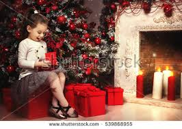 open christmas present box stock images royalty free images