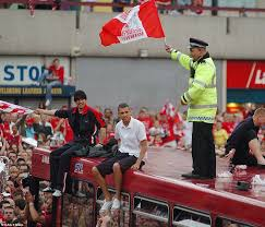 manchester united trophy parade other historic images including