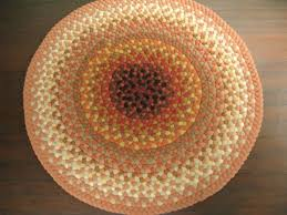 Bamboo Area Rugs Coffee Tables Orange Round Rug Area Rugs With Orange Accents