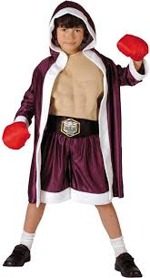 Boxer Halloween Costume Deluxe Boxer Boys Fancy Dress Costume Cq031873 Karnival Costumes