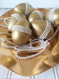 golden easter egg golden easter eggs with pearls hometalk
