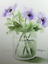The Flower Vase 172 Best Watercolours Images On Pinterest Flowers Watercolor