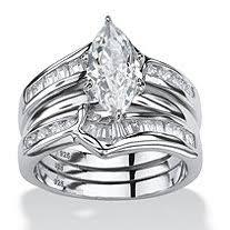 Cubic Zirconia Wedding Rings by Wedding Rings U0026 Wedding Ring Sets Cubic Zirconia Wedding Rings