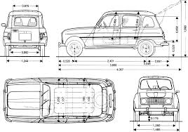 renault 4 renault 4 blueprint download free blueprint for 3d modeling