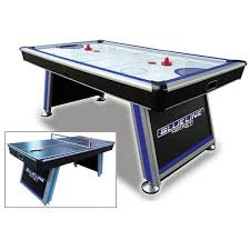 air powered hockey table triumph sports blue line air powered hockey table with table tennis top