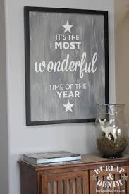 it u0027s the most wonderful time of the yearburlap u0026 denim