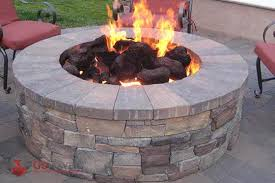 Firepit Rocks 2018 Bbq Pit Pavers Installation Cost Save Up To 25