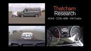 vw 2018 volkswagen crafter 3 way video adas ccrs aeb youtube
