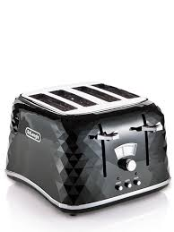 Delonghi Icona Toaster Silver Delonghi Icona Toaster Cream Top Delonghi Ctjbk Brillante Slice