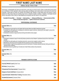 Sample Of Driver Resume by Truck Driver Sample Resume Resume Cv Cover Letter Driver Resume