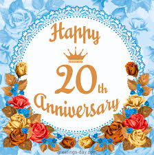 20th wedding anniversary wedding greeting cards pictures animated gifs
