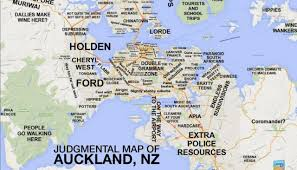 Map Of Harlem Aucklanders React To Judgmental Map Newshub