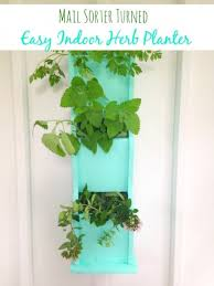 Indoor Herb Planters by How To Make An Indoor Herb Planter From A Mail Sorter
