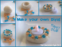 make your own diyas for diwali battery operated lights diwali