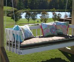 captivating easy diy hanging daybed hanging circle bed home design