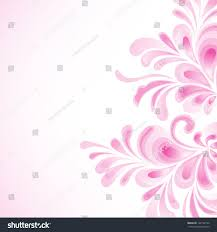 Invitation Card Background Design Floral Purple Background Wedding Invitation Card Stock Vector