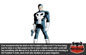 this is why the punisher s symbol is a skull fact fiend