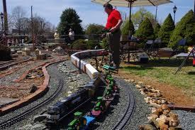 gibsonville garden railroad town of gibsonville north carolina