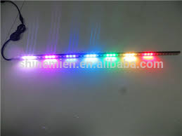 boat led strip lights 56cm led strip scanner light glowing bar knight rider mc boat