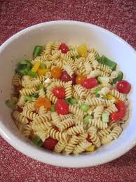Simple Pasta Salad Recipe How To Make A Cold Pasta Salad Recipe Wendys Hat