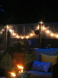 Patio Hanging Lights Comfortable Chair With Pit And Attractive Outdoor Patio