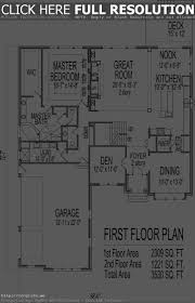 3 bedroom house plans basement corglife 2 with den 4 unbelie