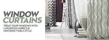 Ready Made Curtains For Large Bay Windows by Living Room Curtains And Drapes Macy U0027s