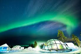 finland northern lights hotel one of a kind igloo hotel offers some of the world s most