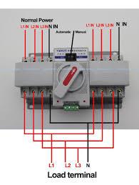 manual generator transfer switch wiring diagram wiring diagram