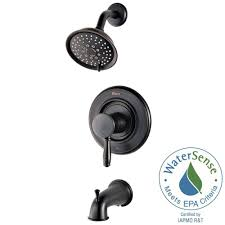 Home Depot Bathroom Shower Fixtures by Pfister Universal 1 Handle Tub And Shower Faucet Trim Kit In