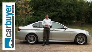 bmw 5 series saloon 2013 review carbuyer youtube