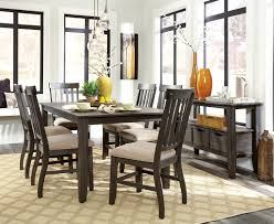 8 Piece Dining Room Sets Signature Design By Ashley Dresbar Grayish Brown And Cream 8 Piece