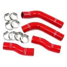 red exhaust silicone rubber hose for racing vehicles rubber hose