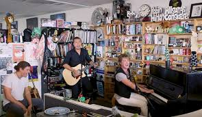 Npr Small Desk Hanson S Npr Tiny Desk Concert Is Musically Tight And Vocally