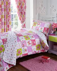girls white green u0026 pink horse and pony show double duvet cover